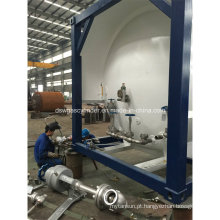 20-350m3 Capacidade Lox / Lco2 Tanque de armazenamento líquido criogênico