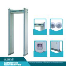 Détecteur de métrage Archway de détection de sécurité audible visuel visuel avec double infrarouge