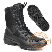 Botas tática é feita de nylon impermeável e material de couro do couro para o exército