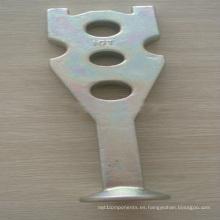 Sistema rápido de elevación del hardware de la construcción del ancla forjada de la erección del pie