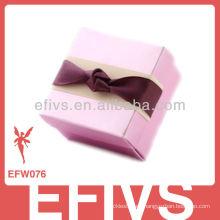 Nueva caja rosada elegante llegada del favor de la boda hecha en China