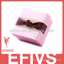 New Arrived Elegant Pink Wedding Favor Box made in China