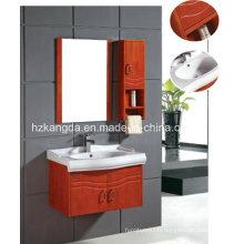 Cabinet de salle de bain en bois massif / vanité de salle de bain en bois massif (KD-435)
