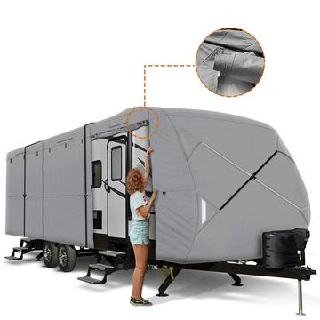 Capa de trailer para trailer de viagem 230T Ripstop Diamond GREY