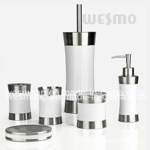 Rubber Paint Stainless Steel Bath Set (WBS0509F)