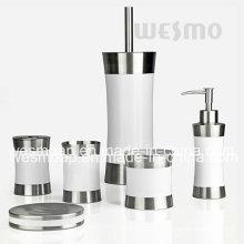 Borracha Banho de aço inoxidável Set Set (WBS0509F)