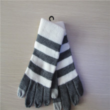men's stripe gloves