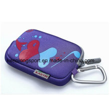 Fashionable Custom Neoprene Pouch with Zipper Closed