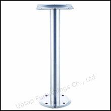 Фаст-фуд фиксированной круглое основание таблицы нержавеющей стали (СП-STL262)