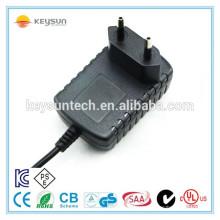 Klasse 2 12V 0.5A smps ite Schaltnetzteil mit europäischem Standardstecker
