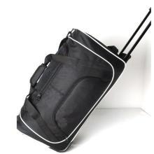 Useful Rolling Duffle Bag High Quality Custom Silk Screen Logo Luggage Trolley on Sale