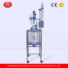Lab Vacuum 30l Jacketed Full Glass Reactor