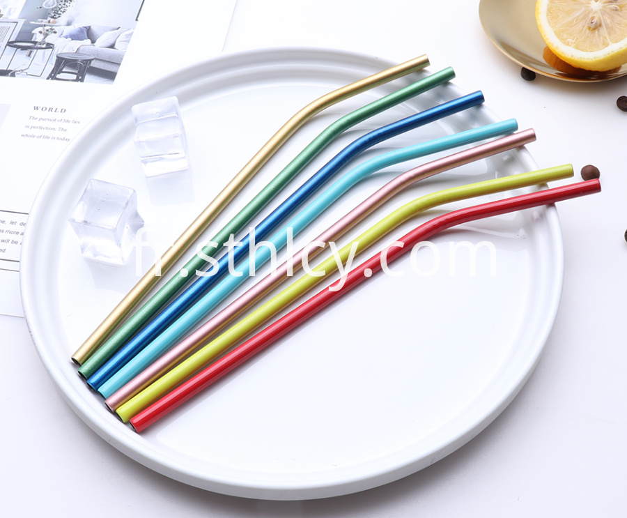 Food Grade Stainless Steel Straw