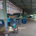 Máquina secadora de chapa de madera para la fabricación de madera contrachapada