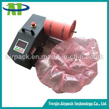 Máquina de almofada de ar de empacotamento protetora para airbag e bolha de ar