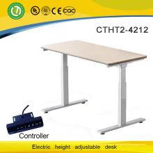 nouveau choix pour fashional confortable et sain table d'ordinateur réglable électrique cadre de levage bureau