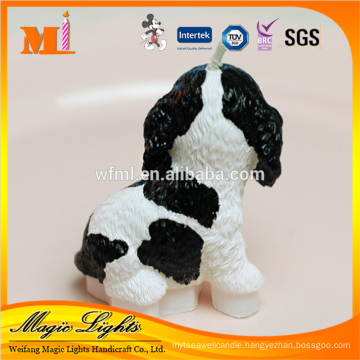 Mini Cute Dog Design Different Color Gift Candle