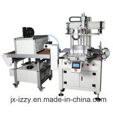 Máquina de impressão automática de tela para réguas plásticas