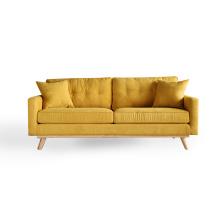 2016 nuevo estilo 1 + 2 + 3 sofá de la sala de estar de la tela