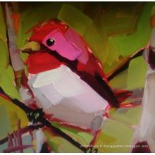 Belle peinture aux oiseaux