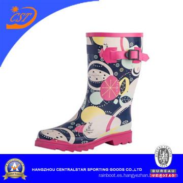 Botas de lluvia de los niños de la moda del nuevo estilo de las muchachas (SS-015)