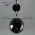 Verre de cristal de couleur noire DX01 lustre Drop