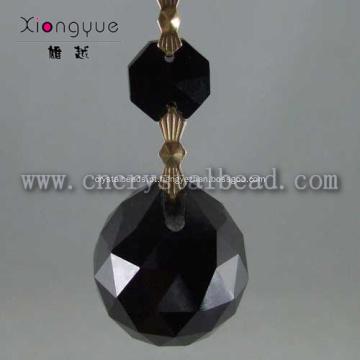 Vidro de cristal de cor preta DX01 candelabro cair