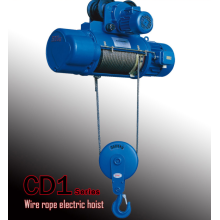 1ton CD1/MD1 wire rope electric hoist