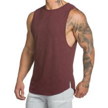 Camisola de alças atlética T-shirt para homens