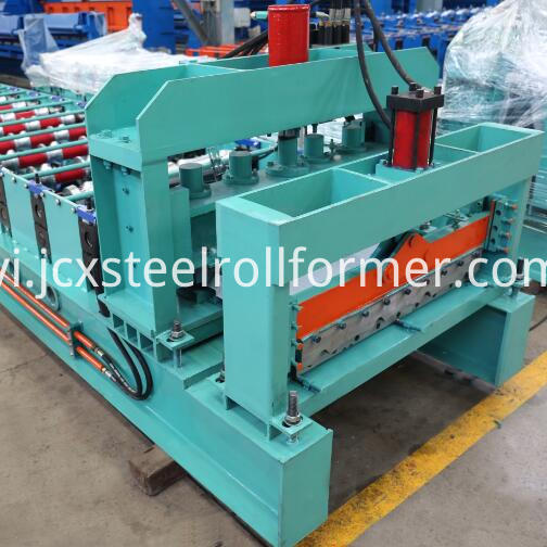 735 Step Tile Roll Forming Machine