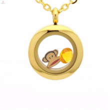 Fancy dubai glass gold locket pendant earring designs jewelry sets