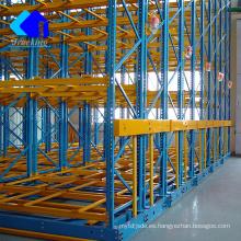 Ahorre en costos y espacio en los racks, almacén Jracking de alta densidad en la tienda móvil de segunda mano móvil