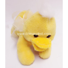 Yellow duck pet toy