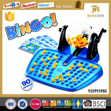 Funny kids chinese educational bingo games set