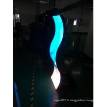 Affichage d'écran LED flexible