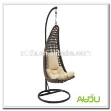 Saco de ovo de balanço Audu, cadeira de ovo pendurado para pátio