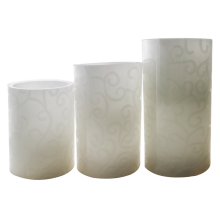Decorativa Flameless Gift Party Candle Atacado