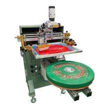Prensa de la impresora de la pantalla de seda de la máquina de impresión de las placas de peso