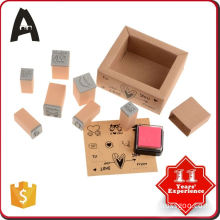 Promotion factory supply laser machine rubber stamp