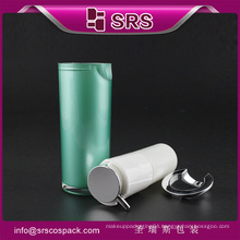 SRS ariless pump bottle ,free samples empty serum plastic bottle