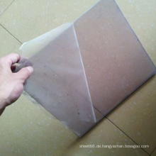3mm Stärke Transparente PVC Starre Platte