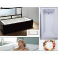 """Baño de alcoba de 60 """"X 30"""" con reborde de azulejo integral y drenaje derecho"""