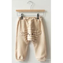 Pantalones orgánicos para bebé con certificación de oreja de gato lindo de China