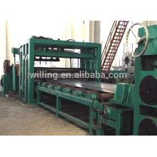 Buena calidad Bobina de acero Cortar a la longitud de la máquina