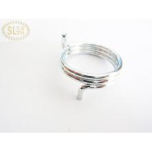 Slth-Ts-008 Kis Korean Music Wire Muelle de torsión con óxido negro