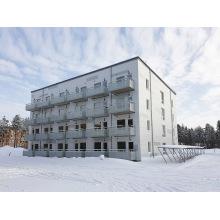 Immeuble d'habitation modulaire à plusieurs niveaux