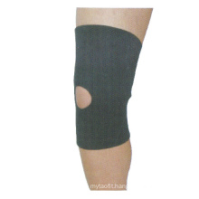 Hot Sale Nylon Knee Protector Sports Knee Support Compression Sleeve Knee Brace with Side Stabilizers & Patella Gel Pads
