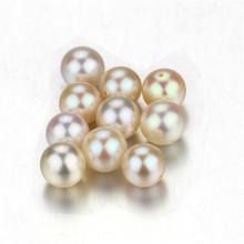 Snh 7.5-8mm weiße reale Süßwasser lose Perlen Großverkauf