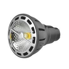 7W Стереофонический рефлектор COB Dimmable GU10 Базовый светодиод PAR20 (LS-P707-A-BWW / BW)