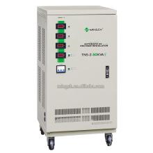 Настраиваемая серия Tns-Z-30k с тремя фазами Полностью автоматическое реле напряжения / стабилизатора напряжения переменного тока